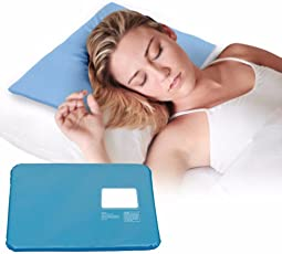 Cartshopper Cooling Chillow Pillow for Cool Summer Chill Therapy Insert Sleeping Aid Pad Mat Muscle Relief Cooling Pad