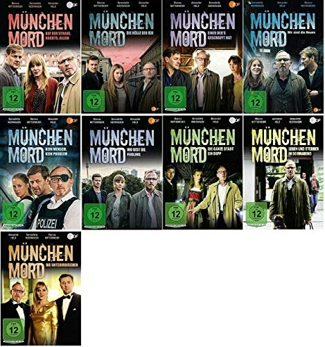 München Mord 9 Filme Paket [9 DVDs Krimi Set]