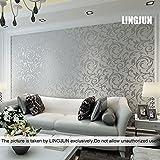 Papel pintado no tejido diseño moderno (3)