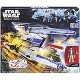Star Wars - Rogue One Rebel U-Wing Fighter, figura 9 cm (Hasbro B7101EU4)