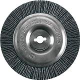 Einhell Ersatzbürste passend für Elektrischer Fugenreiniger BG-EG 1410 (Bürste aus Nylon mit 100 mm Durchmesser)