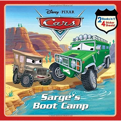 Sarge's Boot Camp/Al's Sky-High Adventure [With 4 Sticker Sheets] (Cars)
