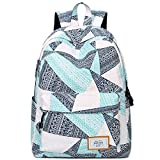 Xshelley filles sac à dos sac à dos scolaire imperméable sac à dos, sac de voyage, sac à dos, sac à bandoulière léger (bleu)