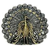 Placcato oro Cinturino come Pavone, pavoni gallo, propone un ruota
