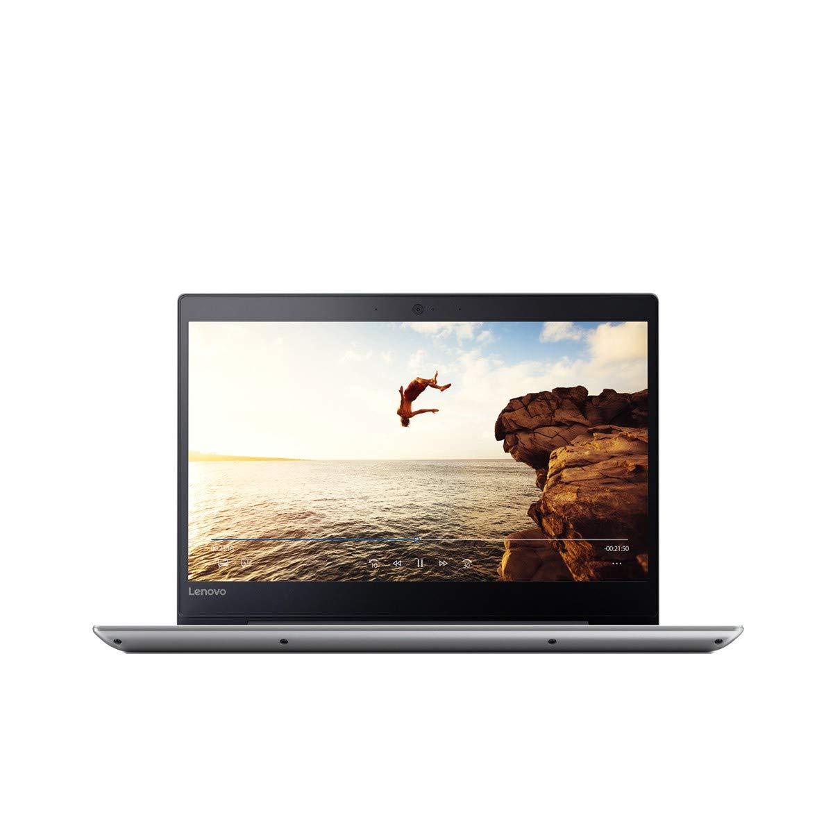Lenovo Ideapad 320S-14IKB – Ordenador portátil 14″ FullHD (Intel Pentium 4415U, 4GB RAM, 128GB SSD, Intel HD Graphics, Windows 10) gris – Teclado QWERTY español