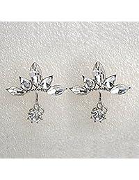 Cs Priority Boucles d'oreilles Fleur Blanche pour femmes