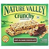 #4: Nature Valley Crunchy Granola Bars, Oat and Dark Chocolate, 252g