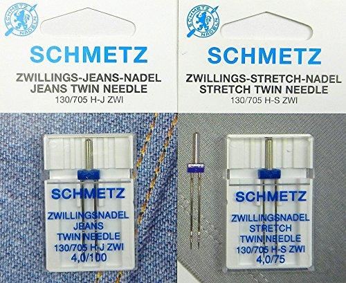 Agujas dobles Schmetz