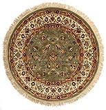 RugVista Sadeh - grün Teppich Ø 150 Orientalischer, Rund Teppich