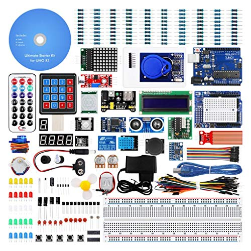 Demino Stellige 7-Segment-Anzeige Projekt abgeschlossen ultimative Starter Kit Tutorial kompatibel für Arduino UNO R3