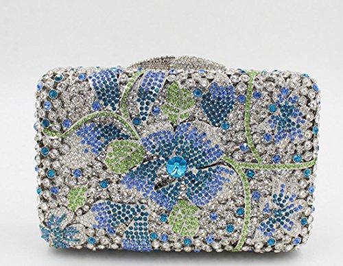 Damen Abendkleider Paket Diamant Abendessen Paket High-End-volle Diamant-Handtasche Bankett-Paket color 8