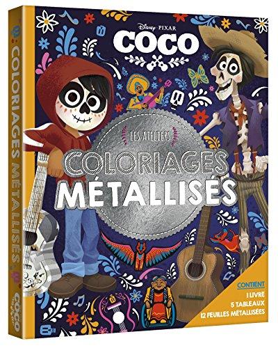 COCO - Les Ateliers Disney - Coffret - Tableaux Métallisés par