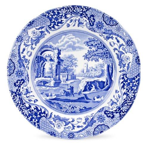 Spode Blue Italian Dinner Plate, Set of 4 by Spode Blue Plate