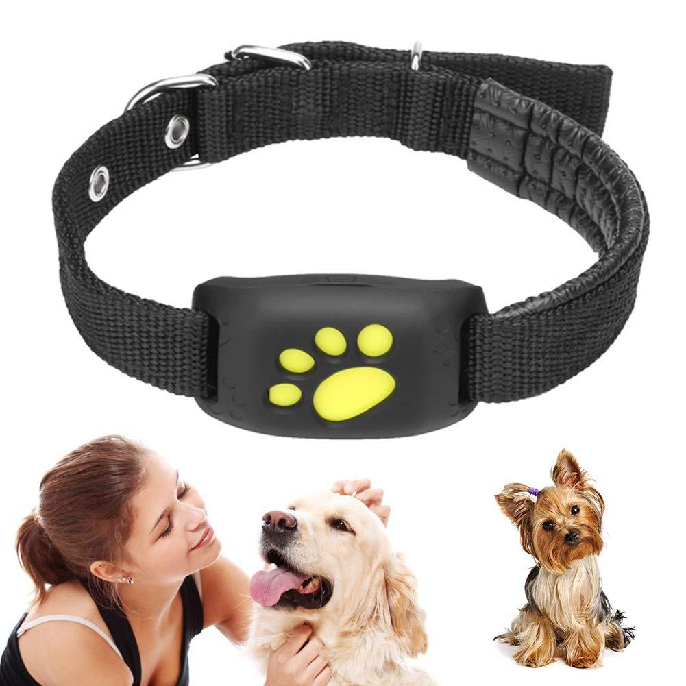 JUMOWA rastreador GPS para Mascotas, buscador Inteligente, Collar para Perro, Gato, Resistente al Agua, Carga USB, Banda de Actividad GPS con función de Llamada para Perros y Gatos