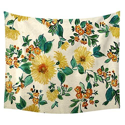 jtxqe Neue Tapisserie Wandbehänge Strandtuch Decke Sonnenblume Neue 33 229 * 150 -