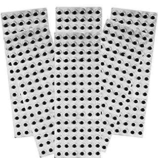 Amazing Arts and Crafts Wiggle Googly Craft Eyes Black Self Adhesive 10mm x 576 pcs SUPER DEAL