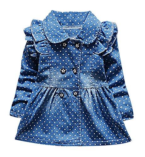 zamot-girls-dotted-double-breasted-blue-denim-ruffle-detail-collar-dress-jacket-blue-9-12-months