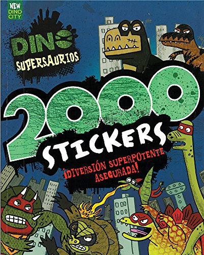 Dino Supersaurios. 2000 Stickers (Dino Supersaurus)