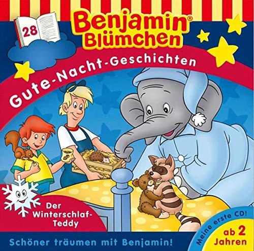 Benjamin Blümchen. Gute-Nacht-Geschichten 28: Der Winterschlaf-Teddy