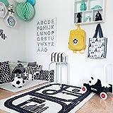 GRENSS Nordic gedruckt Highway Spiel Mat Kinder nach Hause kriechen Pad Teppich thickenin Neugeborenen Bett Spielteppich Decke Kinder Geschenk INS