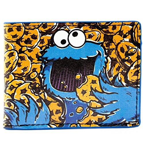 sesame-street-cookie-monster-sea-of-cookies-multicolore-portefeuille
