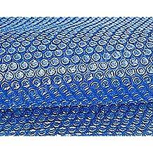Oval Solarplane Solarfolie Poolabdeckung 7,3x3,7m Blau