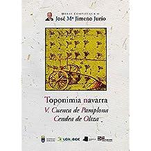 Obras Completas de José María Jimeno Jurío: Toponimia Navarra. V. Cuenca de Pamplona. Cendea de Oltza: 44 (Obras Completas J. Mª Jimeno Jurío)