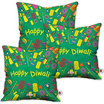 Indi ts Diwali Decoration Items Good Luck Quote Blue