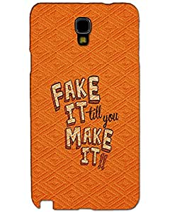 Webplaza Samsung Galaxy Note 3 Neo Back Cover Designer Hard Case Printed Cover