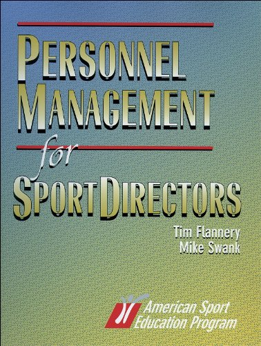 Personnel Management for Sports Directors por Tim Flannery