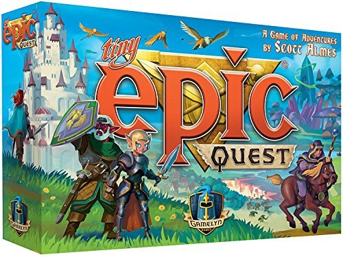 Tiny Epic Quest Fantasy Board Game: A Small Box Adventure Quest - Inglés
