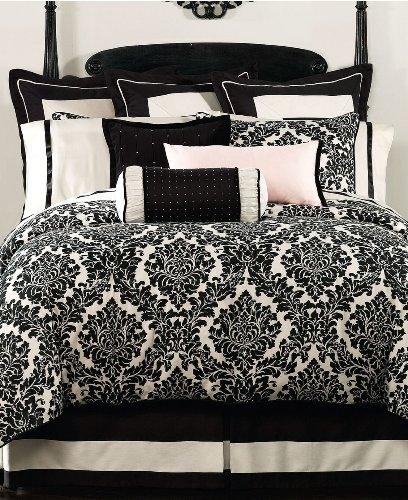 Hotel Collection Waterford Betten Lisette Standard schwarz/cremefarben Kissenbezug Lisette Collection