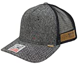 DJINNS - Spotted Tweed 2013 (black) - High Fitted Trucker Cap