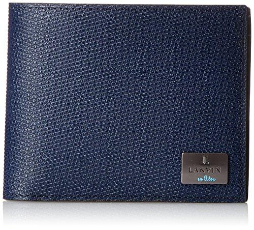 LANVIN en Bleu (Lanvin on blue) 581604, Herren Geldbörse Schwarz Schwarz