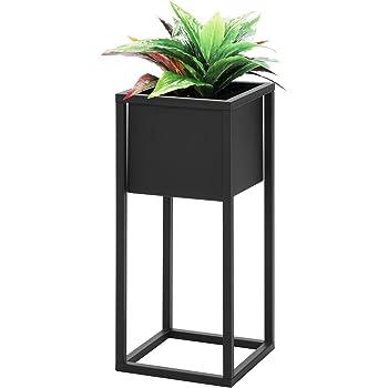 bloomingville blumentopf mit st nder wei. Black Bedroom Furniture Sets. Home Design Ideas