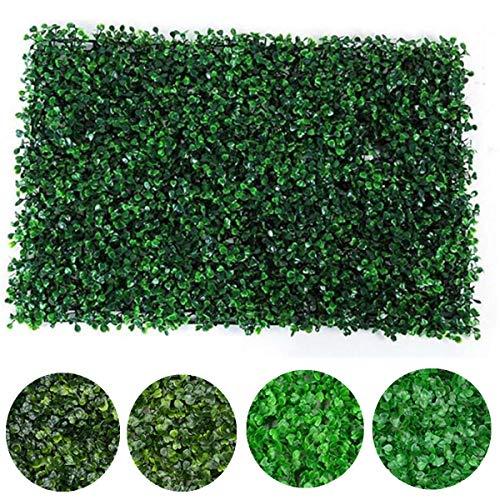 ExcLent 40X60Cm Kunstpflanze Wandzaun Vertikale Gartenplatte Dekorationen Laub Hecke - #4