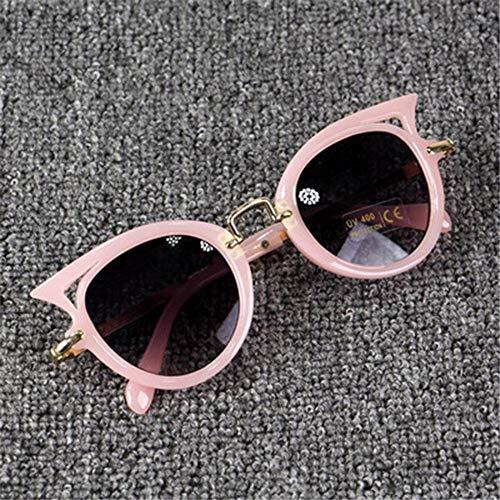 Sonnenbrille Cute Baby Cat Eye Sonnenbrille Kids Tier Cartoon Uv 400 Sonnenbrille Kinder Brillen Gläser Für Mädchen & Jungen Geschenk Rosa