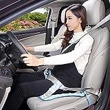 Sicherheitsgurt für Schwangere. Komfort & Sicherheit für den Bauch schwangerer Mütter, Schützt das ungeborene Baby. An jede Art von Sitz und Auto anpassbar. (blau)