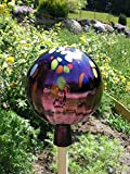 Gartenkugel Rosenkugel Gartenkugeln Rosenkugel Glas 25 cm groß