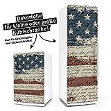 "Posterdeluxe 13870[C] Kühlschrank- / Spülmaschinen-Aufkleber ""Shabby Chic USA"""