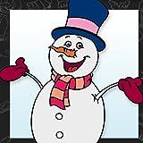 Livre de coloriage des bonhommes de neige...