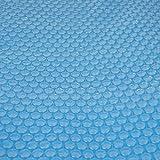 Mendler Pool-Abdeckung Wärmeplane Solarplane, Solarabdeckung, blau, Stärke: 400 µm, rund, 4,57 m