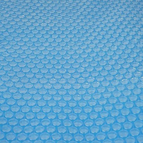 Pool-Abdeckung Wärmeplane Solarplane, Solarabdeckung, blau, Stärke: 400 µm, rechteckig, 8x4 m