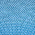 Telo copertura isotermica per piscina PVC 200 micron ~ rotondo 4,88m
