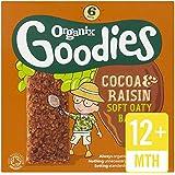 Organix Goodies Organic Cocoa & Raisin Cereal Bars 6 x 30g