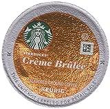 32 Count - Starbucks Creme Brulee Flavored Coffee K-Cups for Keurig K Cup