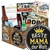 Beste Mama der Welt | Männer Geschenke | Geschenkideen | Beste Mama der Welt | Männergeschenke | persönliches Geschenk für Mama Geburtstag | mit Pfeffi Likör, Kondomen, Bier und mehr