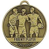 60mm Team Spirit Players Football medal Parents Player - Best Reviews Guide