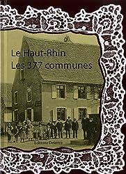 Le Haut-Rhin les 377 communes