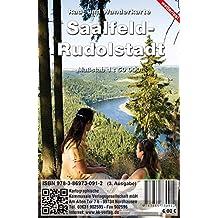 Saalfeld - Rudolstadt: Rad- und Wanderkarte des Landkreises (wetterfest)